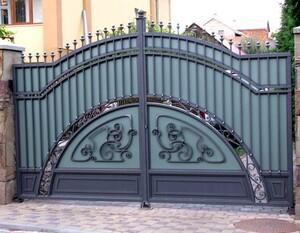 Ковані ворота, брами, модель, КВ-11