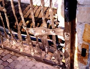 Ковані ворота, брами, модель, КВ-23