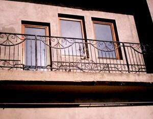 Ковані решітки та балкони, модель, КБ-9