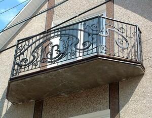 Ковані решітки та балкони, модель, КБ-10