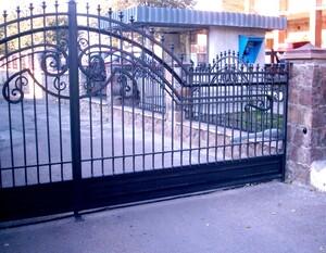 Ковані ворота, брами, модель, КВ-29