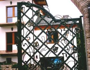 Ковані ворота, брами, модель, КВ-38