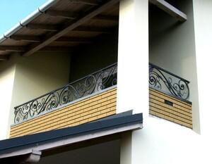 Ковані решітки та балкони, модель, КБ-2