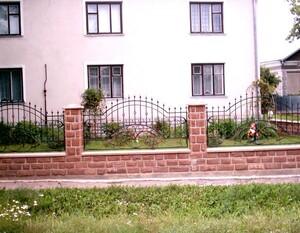 Ковані огорожі, плоти, паркани, модель, КО-21