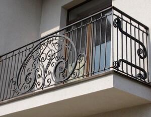 Ковані решітки та балкони, модель, КБ-8