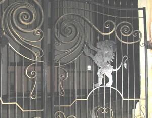 Ковані ворота, брами, модель, КВ-18