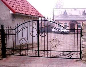 Ковані ворота, брами, модель, КВ-32