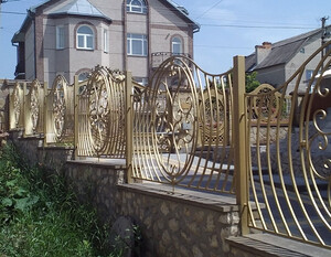 Ковані огорожі, плоти, паркани, модель, КО-25