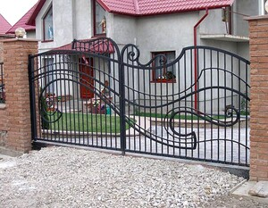 Ковані ворота, брами, модель, КВ-31