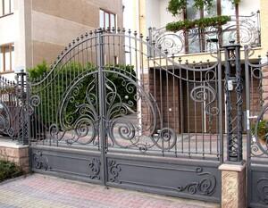 Ковані ворота, брами, модель, КВ-30