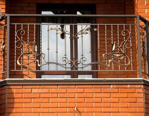 Ковані решітки та балкони, модель, КБ-17