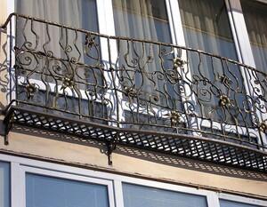 Ковані решітки та балкони, модель, КБ-4