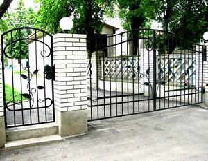 Ковані ворота, брами, модель, КВ-5