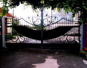 Ковані ворота, брами, модель, КВ-13