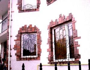 Ковані решітки та балкони, модель, КР-4