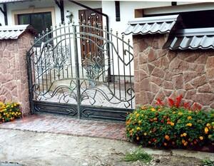 Ковані ворота, брами, модель, КВ-26