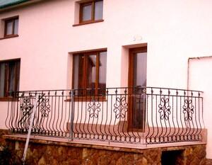 Ковані решітки та балкони, модель, КБ-16