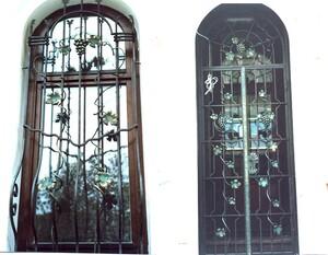 Ковані решітки та балкони, модель, КР-7