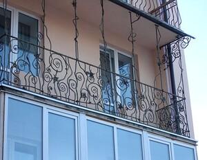 Ковані решітки та балкони, модель, КБ-3