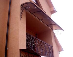Ковані решітки та балкони, модель, КБ-7