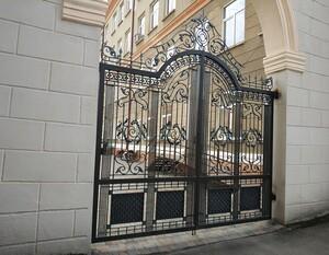 Ковані ворота, брами, модель, КВ-42