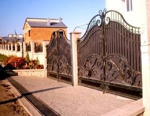 Ковані ворота, брами, модель, КВ-2