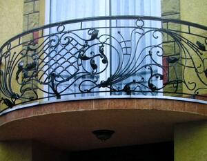 Ковані решітки та балкони, модель, КБ-11