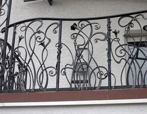 Ковані решітки та балкони, модель, КБ-6