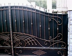 Ковані ворота, брами, модель, КВ-15